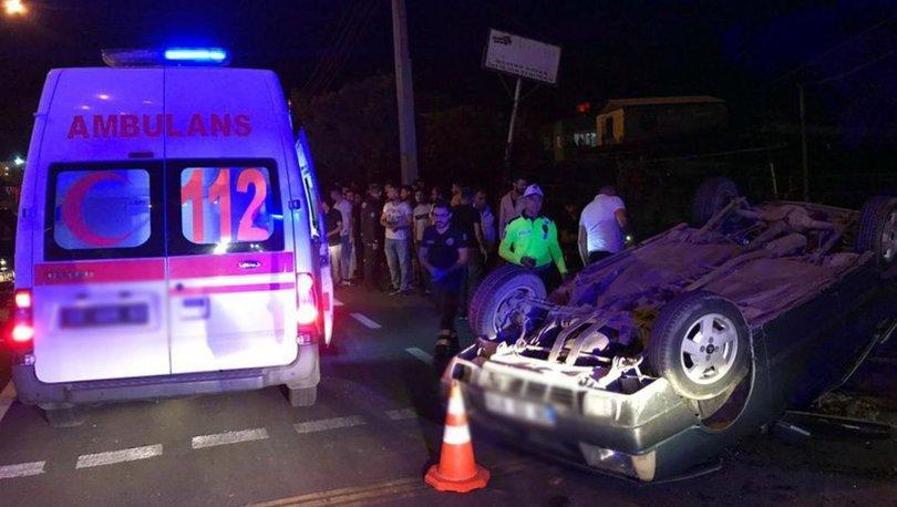 Aydın'da iki otomobil çarpıştı: 6 yaralı