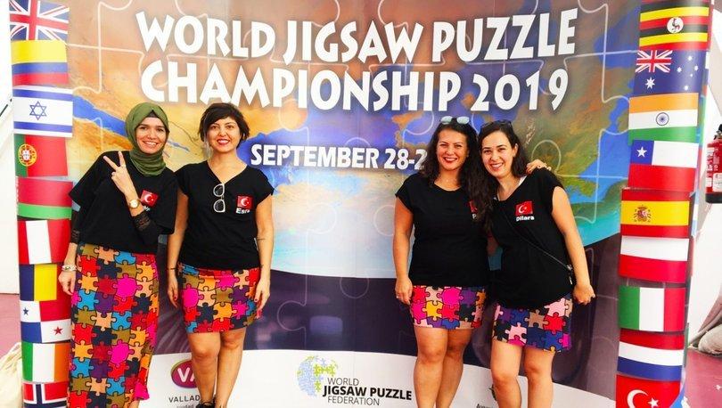 Dünya Puzzle Hız Yarışması sonuçlandı