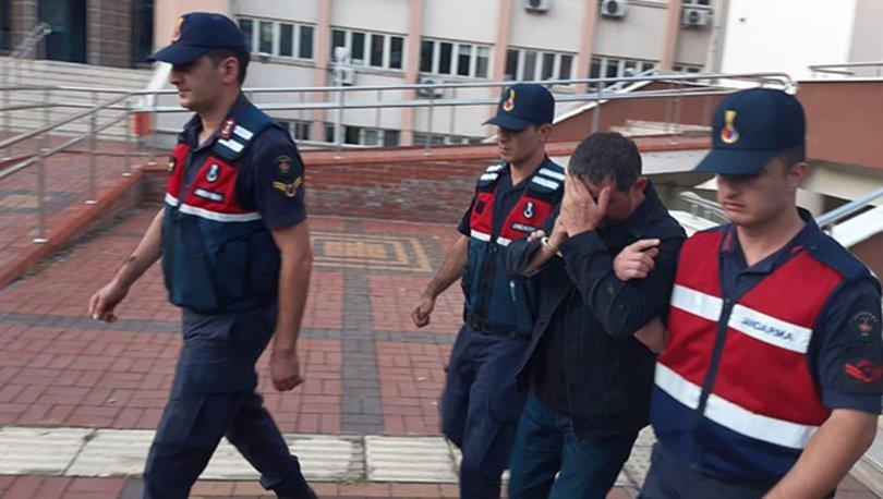 Boşandığı eşini darbederken jandarmaya yakalandı, tutuklandı