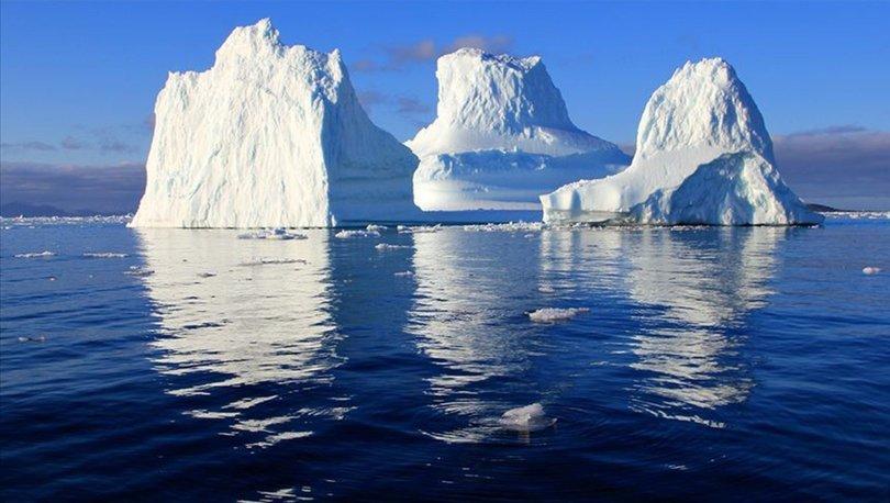 Son dakika! 315 milyar tonluk buz dağı Antarktika'dan koptu