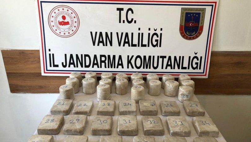 Van'da 20 kilo 503 gram eroin ele geçirildi