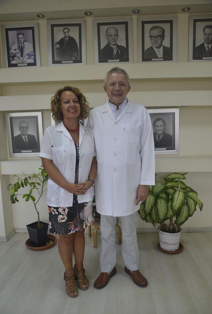 Doç. Dr. Sevnaz Şahin ve Prof. Dr. Fehmi Akçiçek