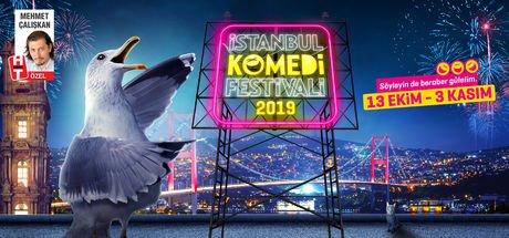 İstanbul Komedi Festivali'nde 107 kere komedi