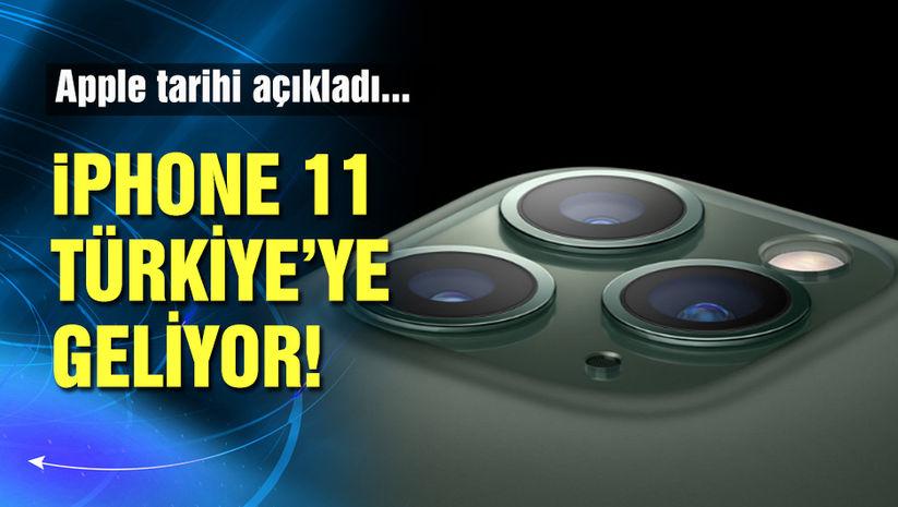 Apple iPhone 11 için Türkiye'ye tarih verdi!