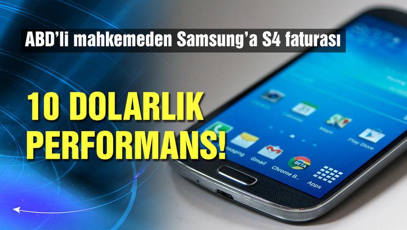 Samsung'a 10 dolarlık fatura!
