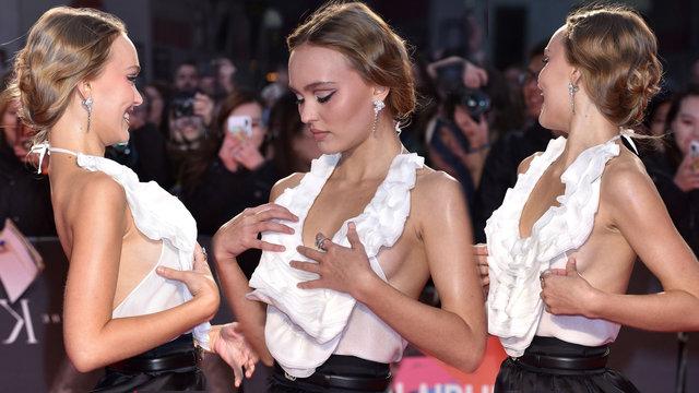 Oyuncu Lily Rose Depp'in zor anları - Magazin haberleri