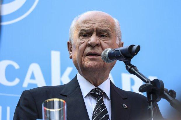 """Bahçeli: """"CHP liderinin araştırılması için komisyon kurduk"""""""