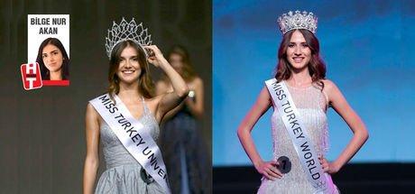 Miss Turkey birincisi Simay Rasimoğlu 20 yılın en uzunu!