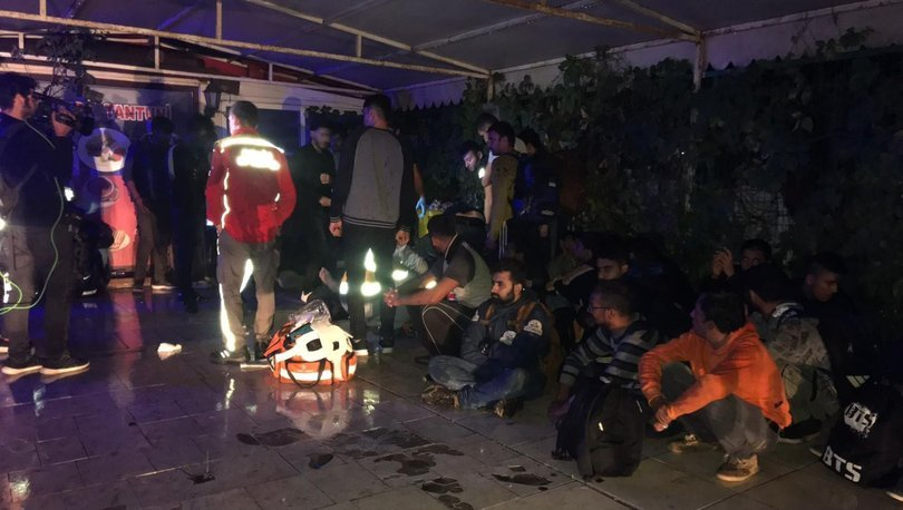 Arnavutköy'de göçmenleri taşıyan tır kaza yaptı, çok sayıda göçmen yaralandı ile ilgili görsel sonucu