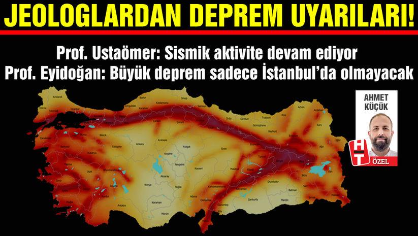 Jeologlardan İstanbul depremi uyarısı!