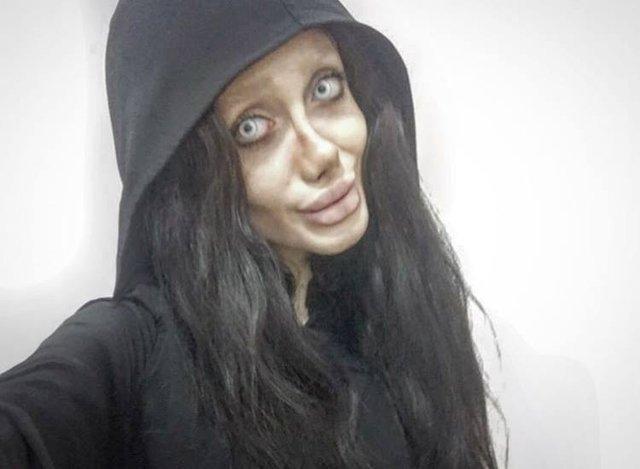 İran'ın 'Angelina Jolie'si' tutuklandı!-Haberler