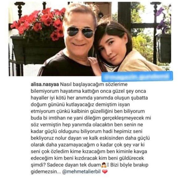Alisa Nasya Deniz'den Mehmet Ali Erbil açıklaması: Yüzüğümü... - Magazin haberleri