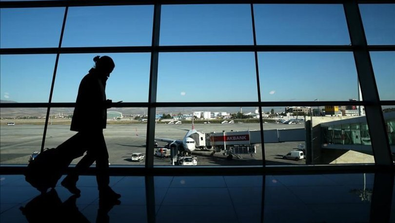 Hava yoluyla taşınan yolcu sayısı