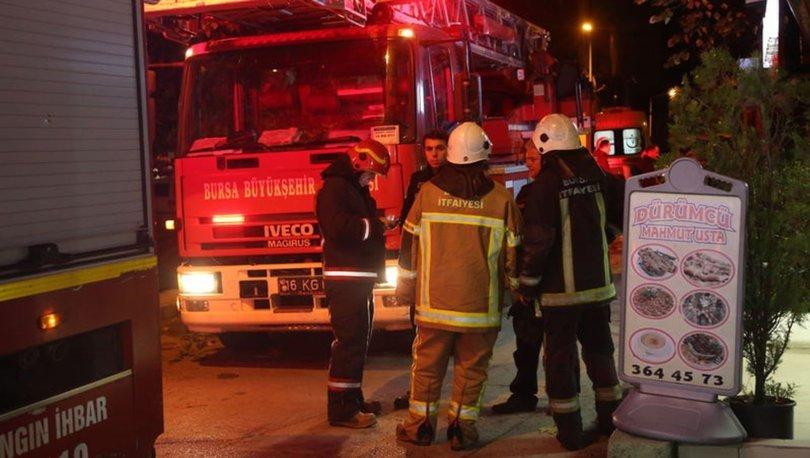 Bursa'da iş yeri yangını: 1 ölü