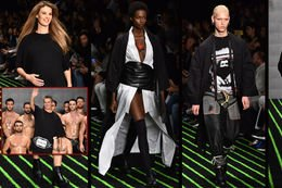 """""""Fashion Week"""" şovlarıyla devam ediyor..."""
