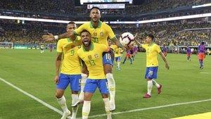 Neymar'dan milli takımda