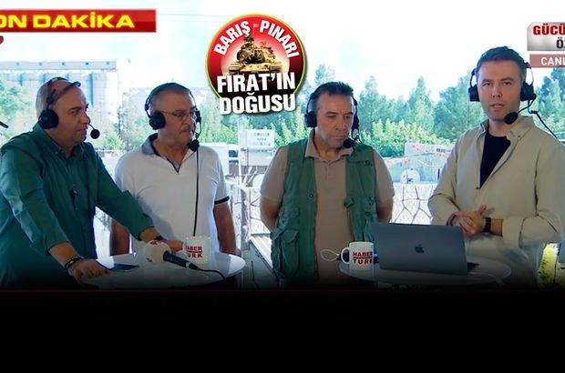 Habertürk TV canlı yayınında taciz atışı!
