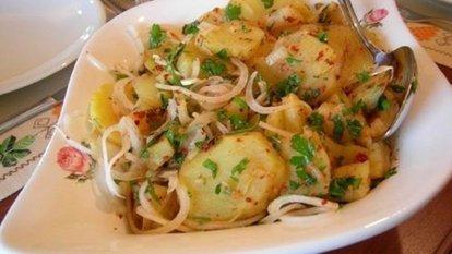 Patates salatası nasıl yapılır?