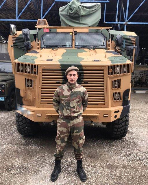Sefa Doğanay: Rabbim askerimizin yardımcısı olsun - Magazin haberleri