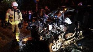 İstanbul'da feci kaza: 2 ağır yaralı