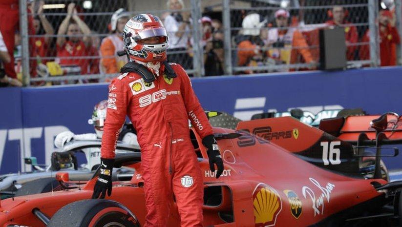 Leclerc'e 15 saniye ceza
