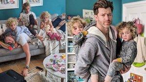 4 kız babası interneti salladı