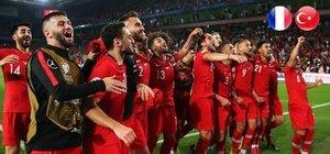 Türkiye, Fransa ile liderlik maçında!