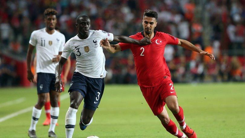 Fransa - Türkiye maçı