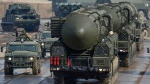 Rusya'dan nükleer tatbikat