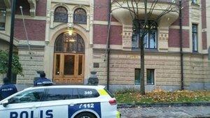 Finlandiya'da Büyükelçiliğe saldırı