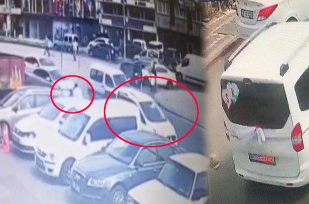 Gelin arabalı gaspçılar yakalandı