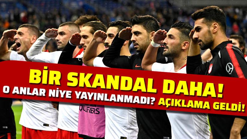 """""""Selamı UEFA yayınlatmadı"""""""