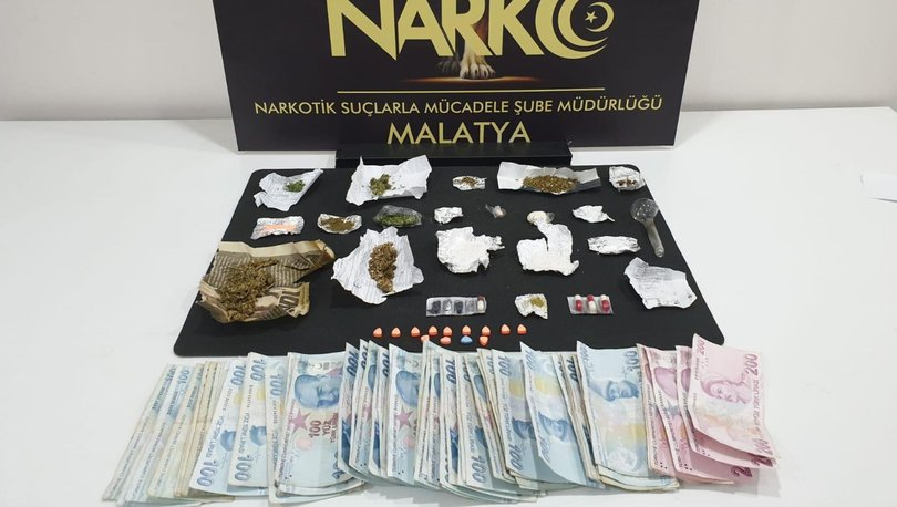 Malatya merkezli iki ilde torbacı operasyonu: 13 adreste 8 gözaltı