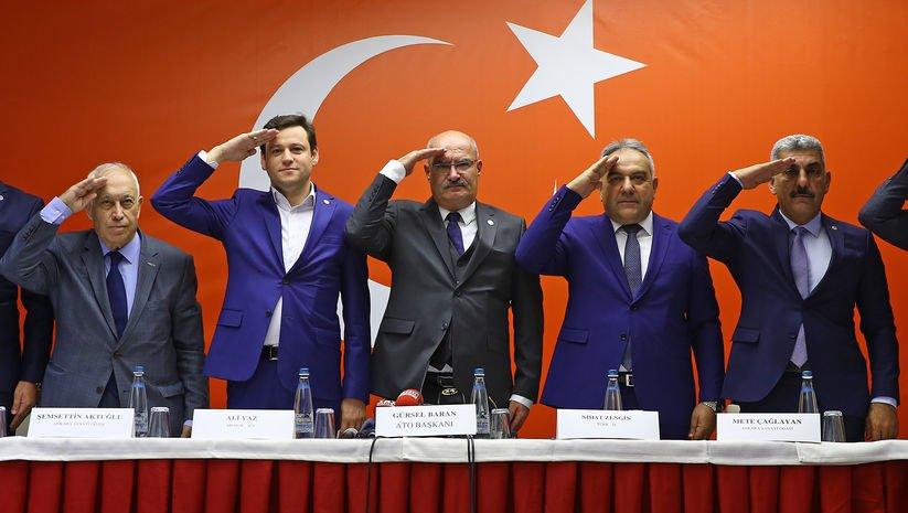 Oda ve borsalardan Barış Pınarı'na destek