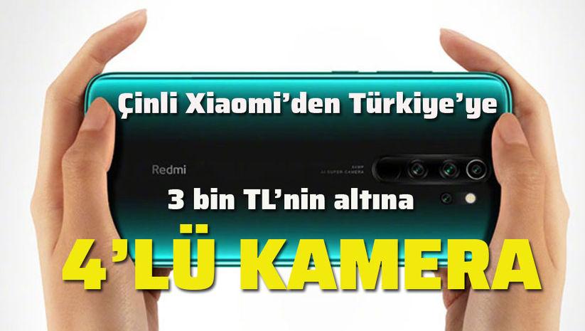 Çinli Xiaomi 4 yeni telefonla Türkiye'de