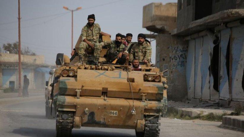 Rejim ordusu Kobani'ye girdi
