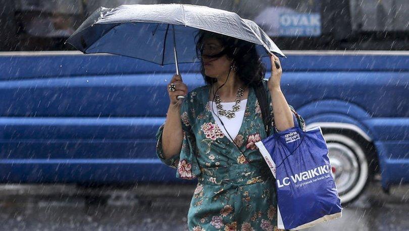 ISLANACAĞIZ! Meteoroloji'den son dakika sağanak uyarısı! Yağmur yağacak mı? - HAVA DURUMU