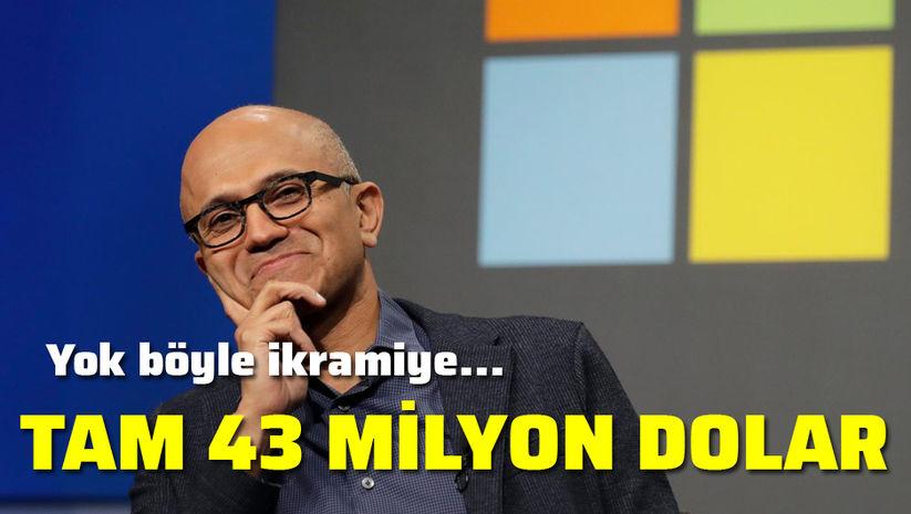 42.9 milyon dolarlık prim aldı