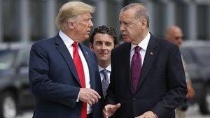 Erdoğan'dan Trump'a teşekkür yanıtı