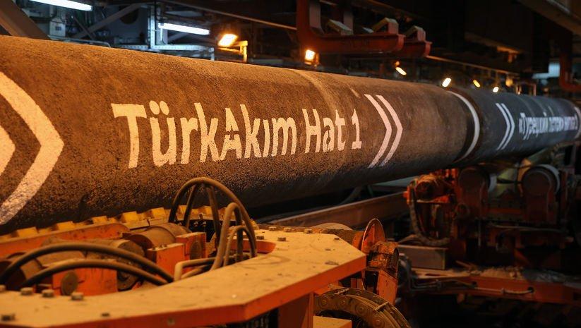 TürkAkım'da ilk hatta doğalgaz dolumuna başlandı