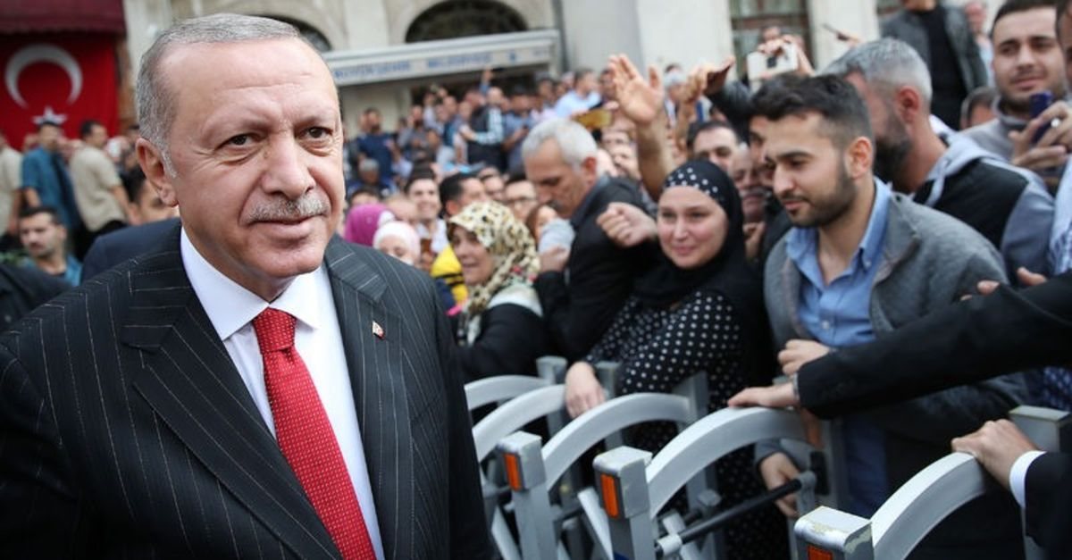 Cumhurbaşkanı Erdoğan konuşuyor