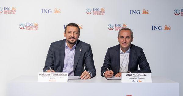 ING, basketbolun 3 yıllık sponsoru