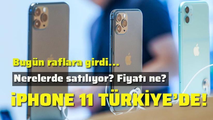 iPhone 11 Türkiye'de!