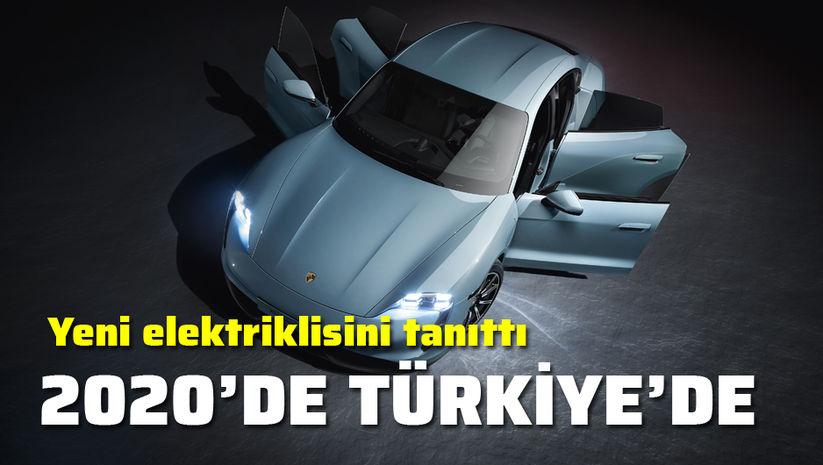 Taycan 4S Haziran 2020'de Türkiye'de