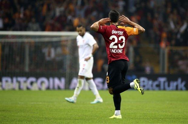 Galatasaray Sivasspor MAÇ SONUCU ve ÖZETİ - Aslan evinde kükredi! 5 gol 1 kırmızı