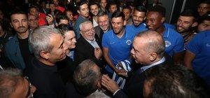 Erdoğan'dan Kasımpaşa'ya ziyaret