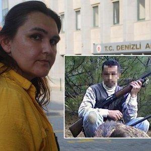Eşi cezaevinden çıkan kadın adliyeye sığındı!