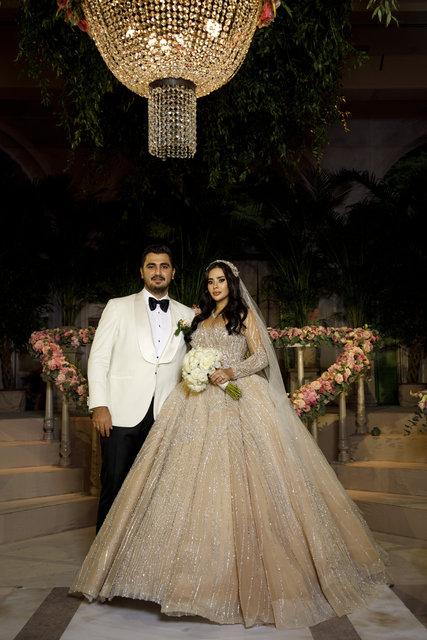 Düğüne ünlü akını! Moda tasarımcısı Gülnur Güneş ile Yiğit Doğan Çelik evlendi! - Magazin haberleri