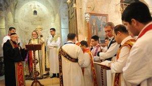 Azınlıklardan Türk askerine dua