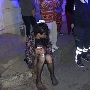 Köpeği yanarak ölen kadın, sinir krizi geçirdi